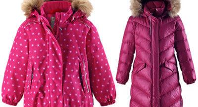 Зимние куртки для девочек в Кораблике
