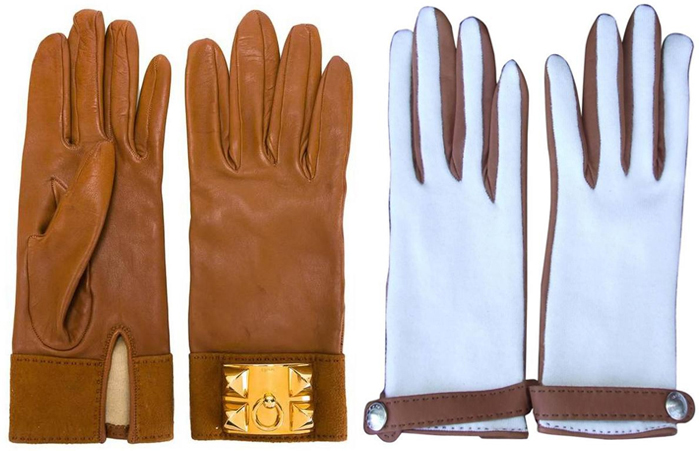 Перчатки Hermes